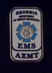 AEMT State of Georgia Lapel Pin