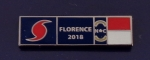 HURRICANE FLORENCE 2018 North Carolina SILVER Uniform Award/Commendation Bar pin