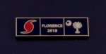HURRICANE FLORENCE 2018 South Carolina GOLD Uniform Award/Commendation Bar pin