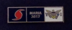 HURRICANE MARIA 2017 US Virgin Islands USVI Uniform Award/Commendation Bar pin